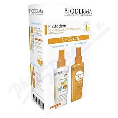 BIODERMA Photoderm Family spr.SPF30+KID spr.SPF50+